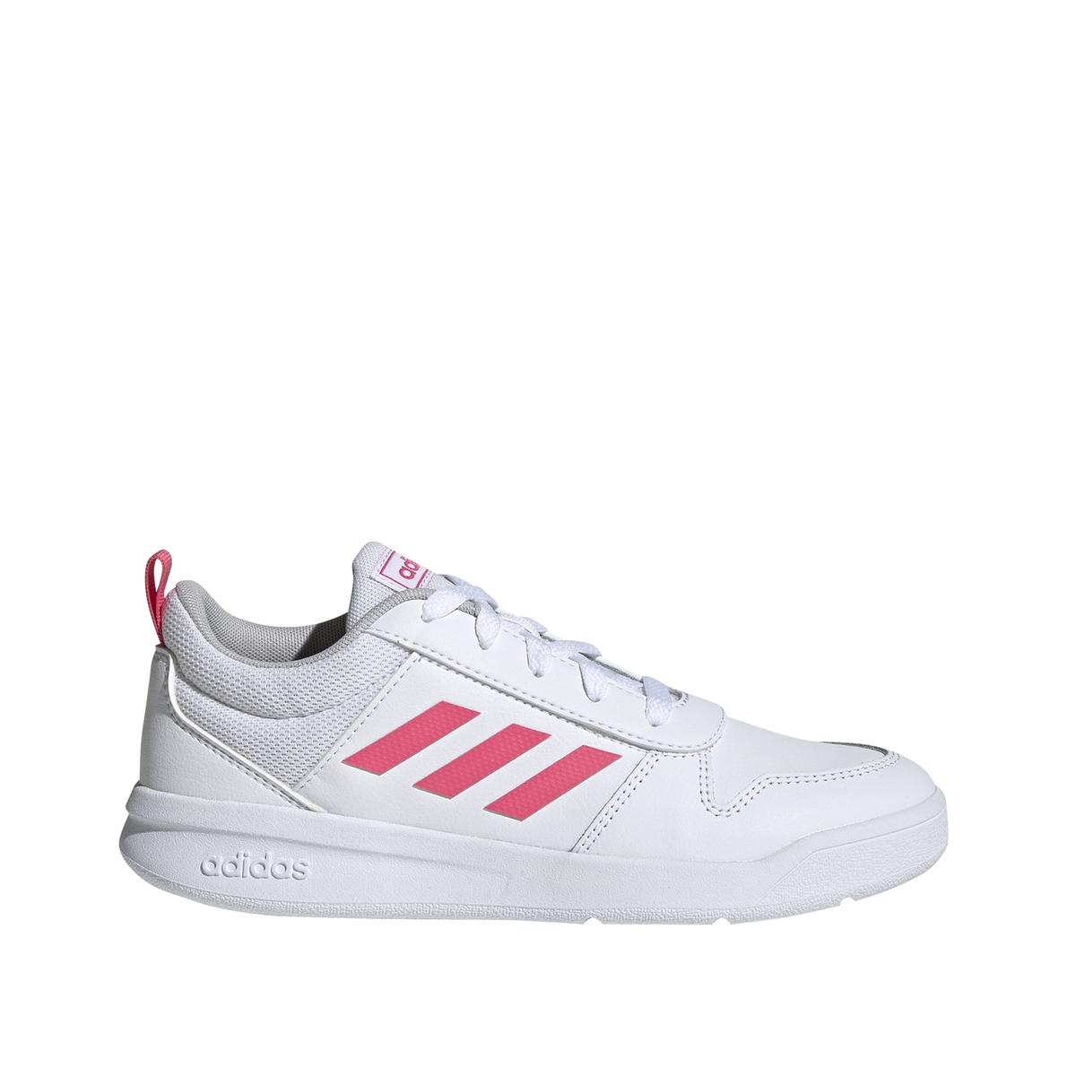 Adidas Performance Tensaur K hardloopschoenen wit/roze meisjes online kopen