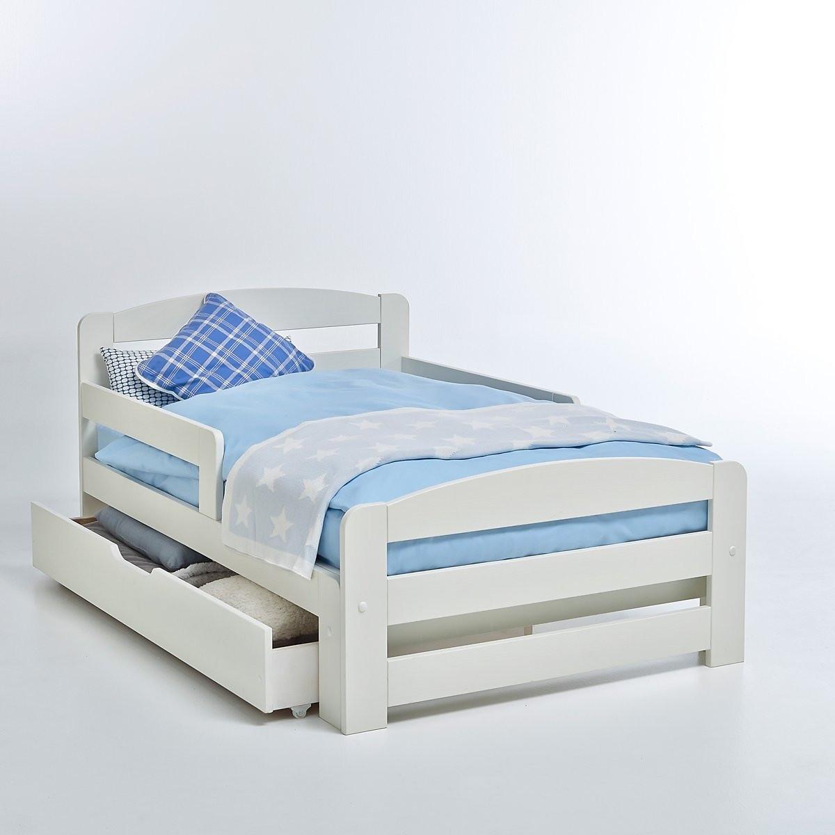 Кровать LaRedoute Раздвижная 1-спальная Toudou 90 x 200 см белый