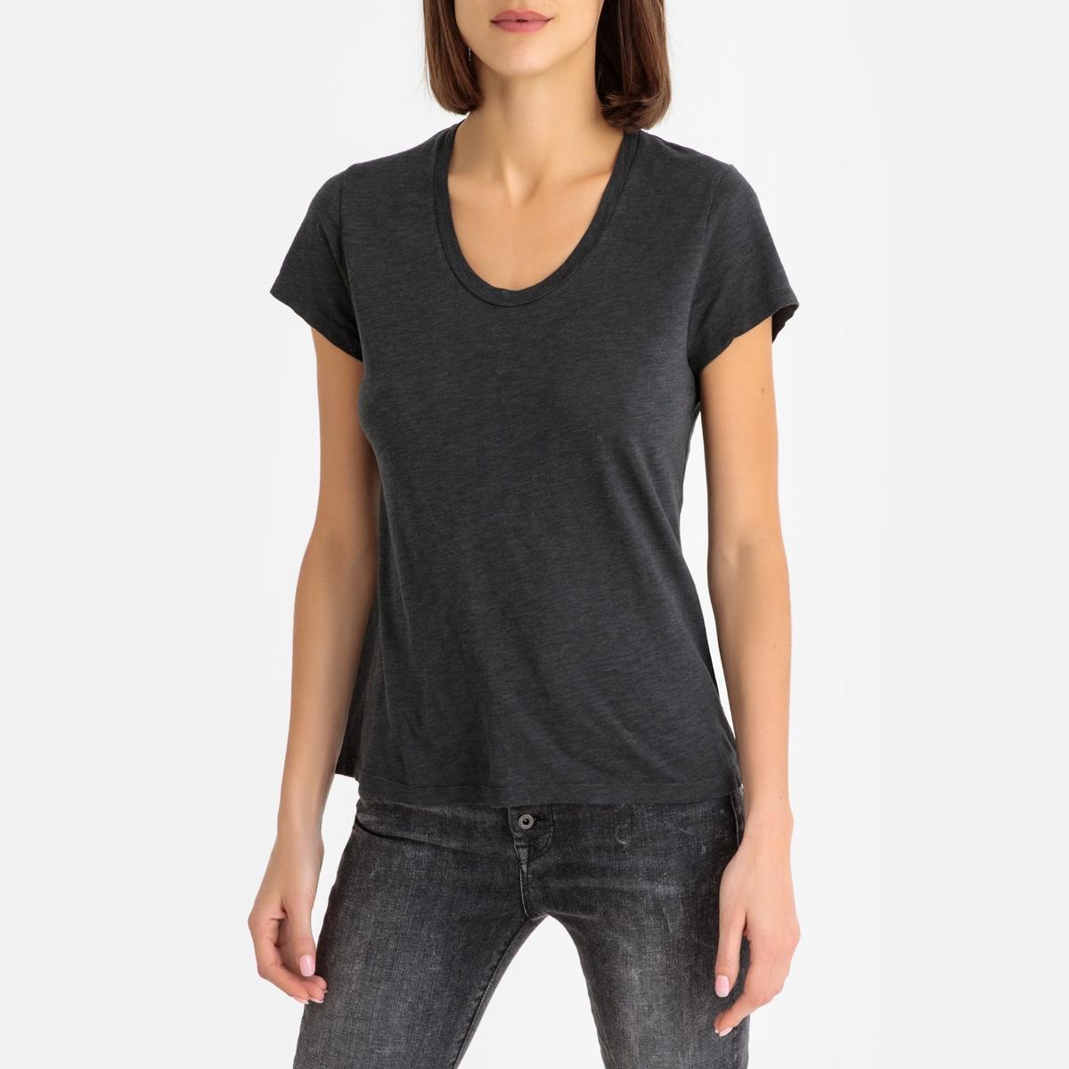 Imagen adicional 2 de producto de Camiseta de manga corta, cuello redondo - American Vintage