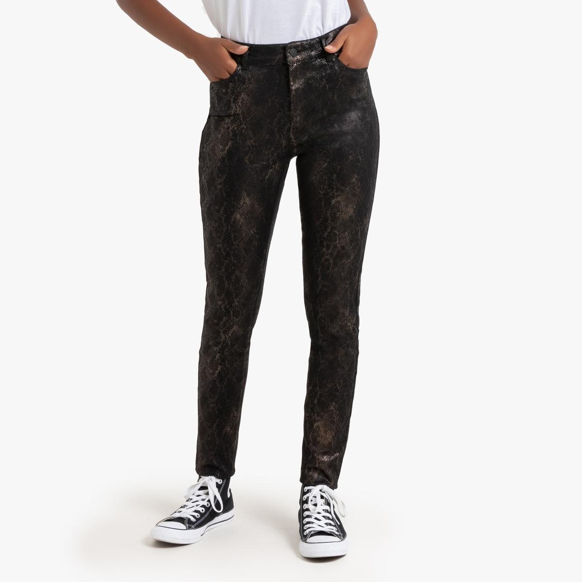 Брюки La Redoute Узкие с пропиткой XS другие джинсы la redoute узкие с вышивкой 8 другие