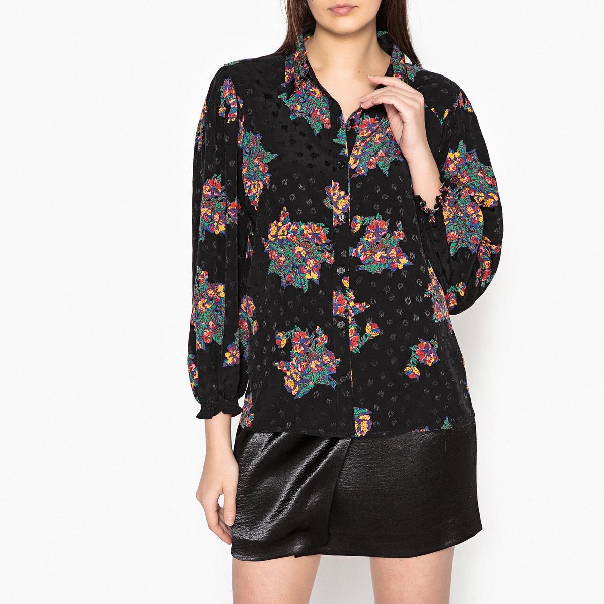 Рубашка с цветочным рисунком FELIZ