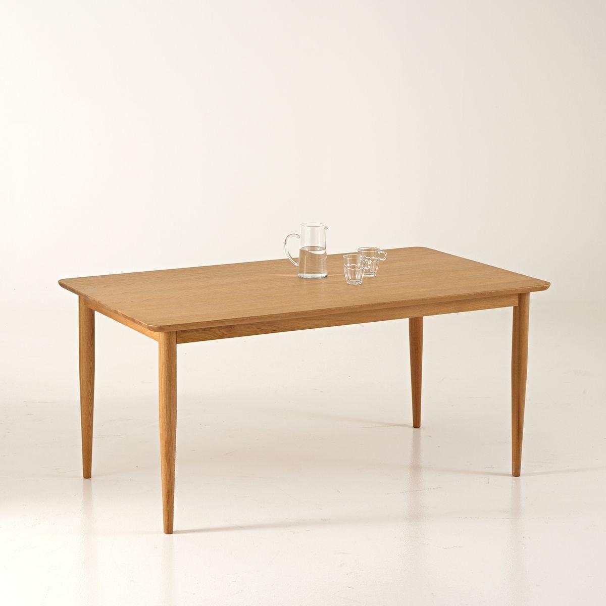 Table à allonges vintage, 6 à 8 couverts, Quilda