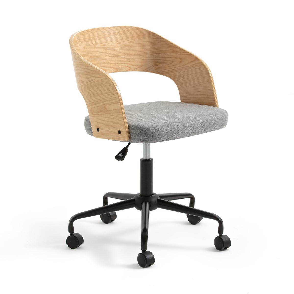 Кресло La Redoute Офисное на колесиках FLOKI единый размер черный