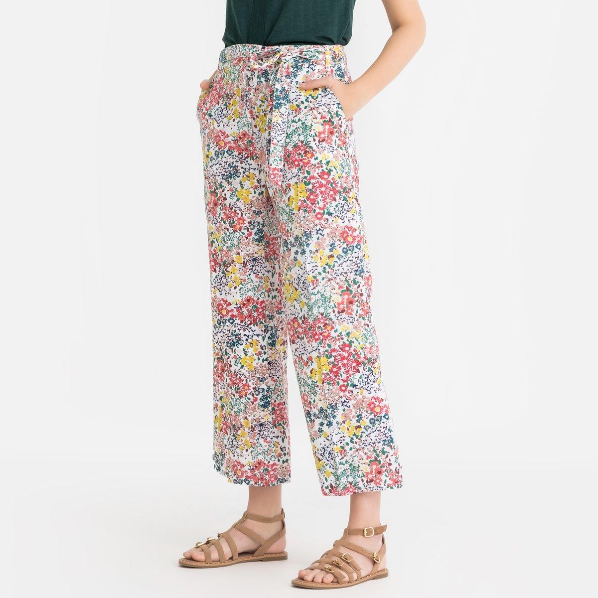 Pantalon large imprimé DONNA IMPRIME