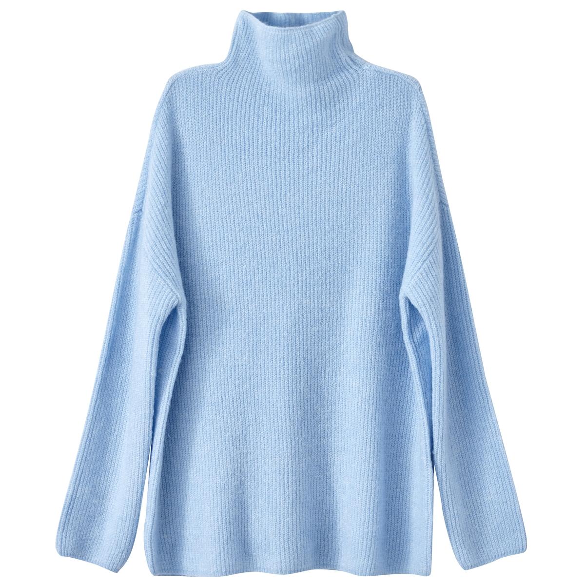 Пуловер Vimium с воротником-стойкойСостав и описаниеМатериал: 63% акрила, 13% полиэстера, 11% полиамида Нейлон, 10% мохера, 3% эластана.Длина: 66 см.Марка: Vila.Модель: Vimium.УходСледуйте рекомендациям, указанным на этикетке изделия.<br><br>Цвет: голубой,мандариновый,темно-синий<br>Размер: M.L.M