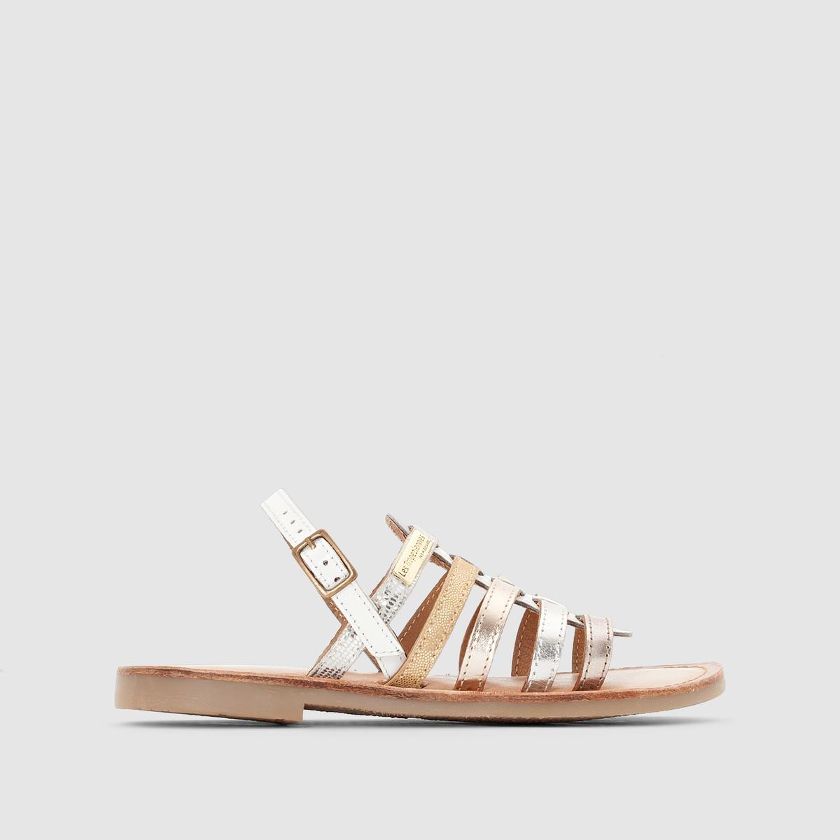 Сандалии LES TROPEZIENNES, MadisonПреимущества:   : сандалии от LES TROPEZIENNES в аутентичном стиле просто незаменимы в этом сезоне в сочетании с небольшим платьем или джинсами .<br><br>Цвет: белый<br>Размер: 29