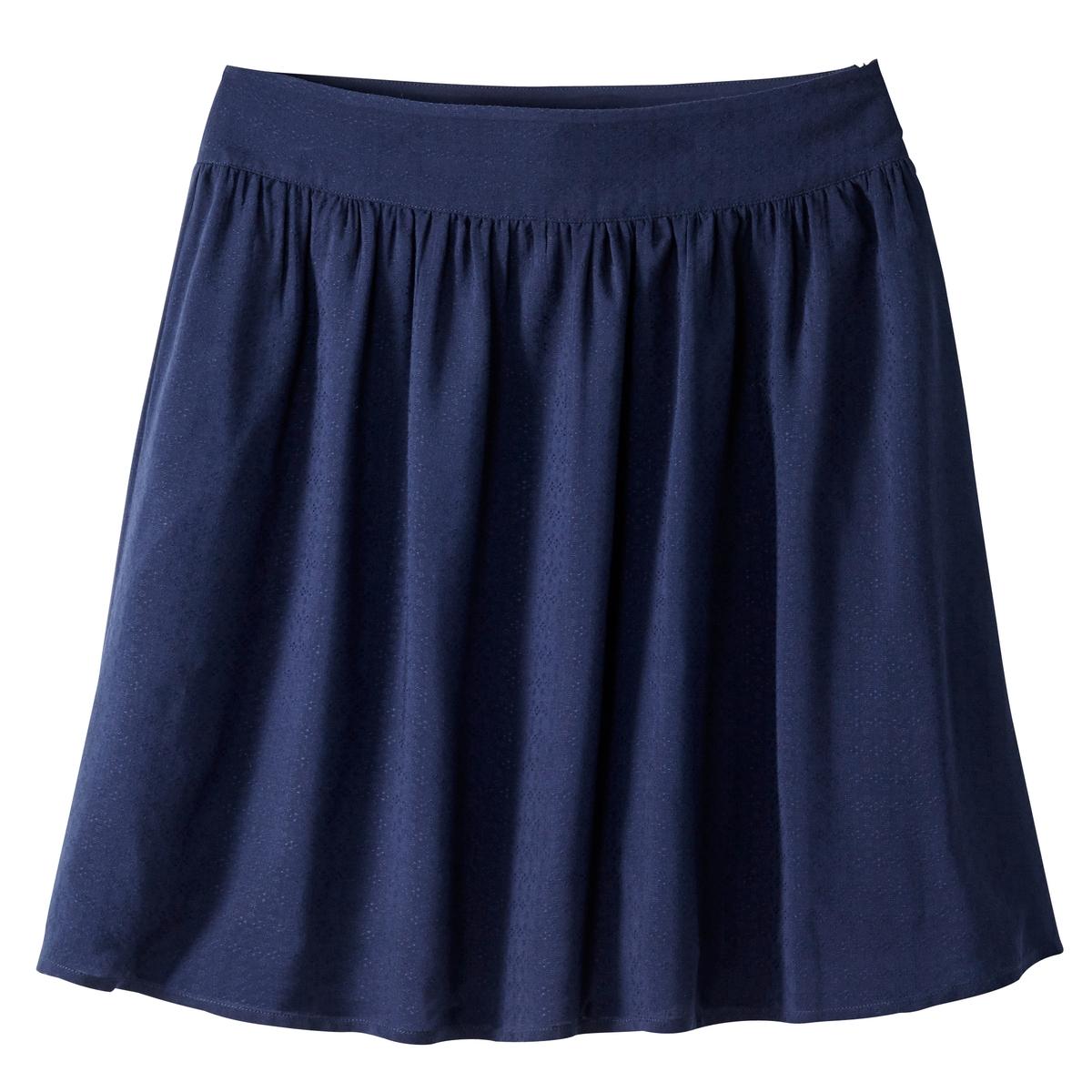 Юбка расклешенная короткая однотонная юбка однотонная короткая