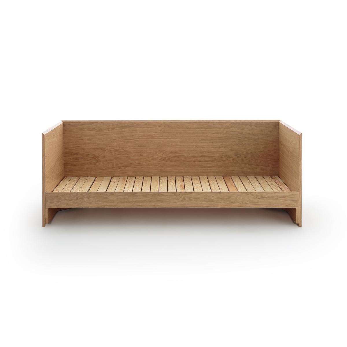 Диван-кровать LaRedoute Working 90 x 200 см каштановый
