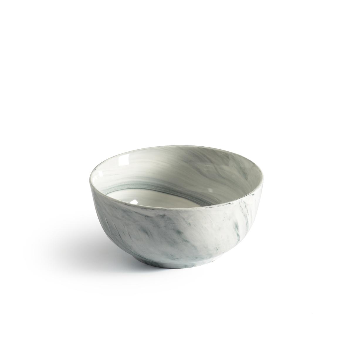 4 чашки с эффектом мрамора Shibori фэн цин тан хорошо белого фарфора делятся на чашки комплекс