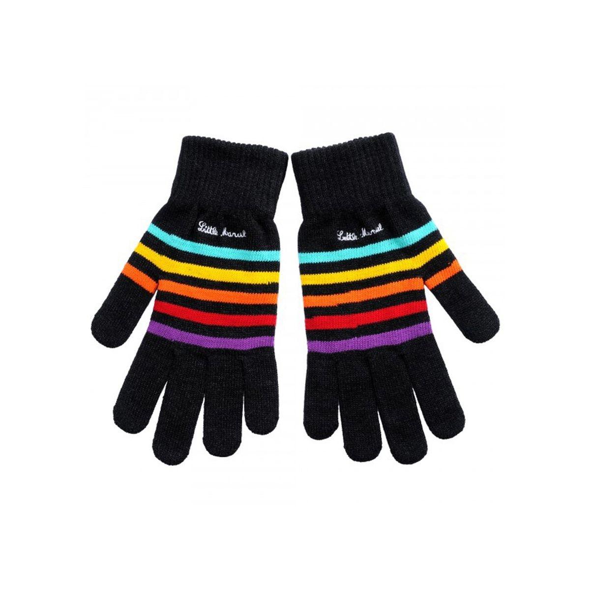 Little Marcel gants tactiles à Rayures taille M