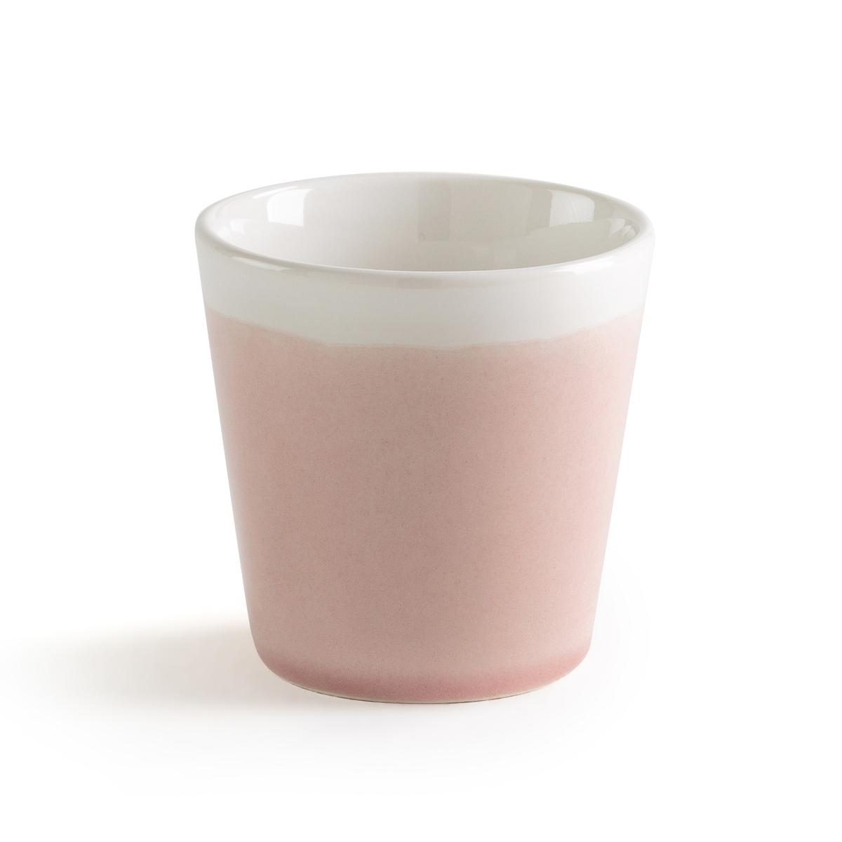 Чашка из фаянса с эффектом трещинок GOGAIN (4 шт.)Описание:4 двухцветные чашки La Redoute Interieurs с эффектом трещинок для гармоничной и душевной композиции стола. Контрастные дно и краяХарактеристики 4 чашек •  Двухцветный фаянс с эффектом трещинок, серия gogain •  Подходит для мытья в посудомоечной машинеРазмеры 4 чашек: •  Диаметр: 7,5 см  •  Высота : 7,5 см   •  Объем: 150 млВсю коллекцию столового декора вы найдете на сайте laredoute.<br><br>Цвет: зеленый,розовый,серо-синий
