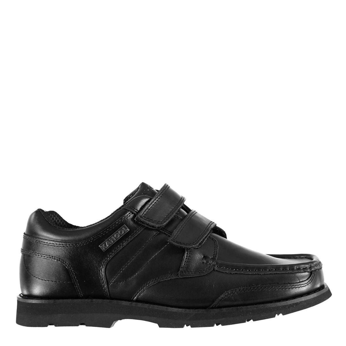 Chaussures mocassins habillés bande velcro