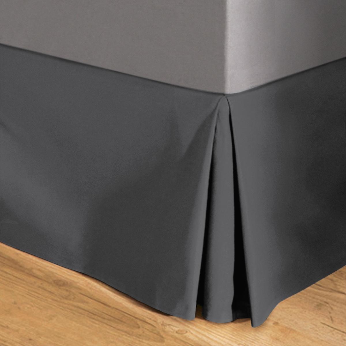 НаматрасникПлотная, очень прочная и простая в уходе ткань, 100% хлопка (215 г/м?) .Еще один плюс в ваш декор с этим наматрасником, сочетающимся с покрывалами, подушками и шторами из коллекции Sc?nario   !Характеристики наматрасника :- Закрывает 3 стороны кровати (изголовье не закрывается).- Высота клапанов : 30 см.-  Отделка встречными складками.- Машинная стирка при 40°.Сертификат Oeko-Tex® дает гарантию того, что товары изготовлены без применения химических средств и не представляют опасности для здоровья человека... . ..  : : . .  : .  : . .  !  :<br><br>Цвет: белый,вишневый,медовый,синий индиго,сливовый,темно-серый,черный,экрю<br>Размер: 90 x 190  см.140 x 190  см.90 x 190  см.140 x 190  см.160 x 200  см.180 x 200  см