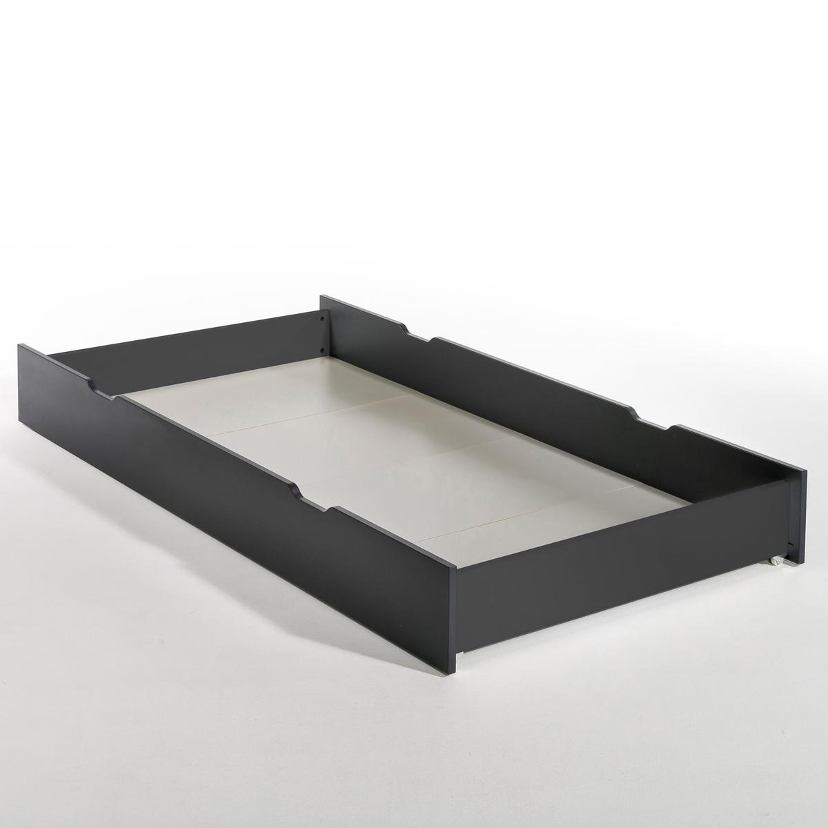Ящик LaRedoute Для кровати Pilha единый размер серый матрас laredoute с поролоном для кровати ящика 90 x 180 x 12 красный