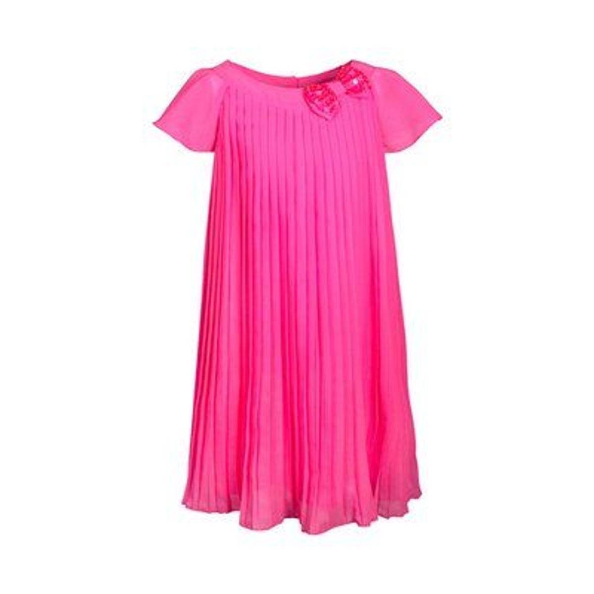Eisend Robe plissée manches à ailettes robe bébé