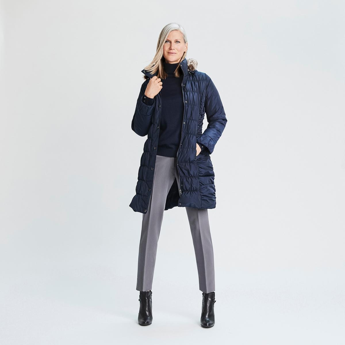Imagen adicional 2 de producto de Pantalón urbano tobillero, de poliviscosa - Anne weyburn