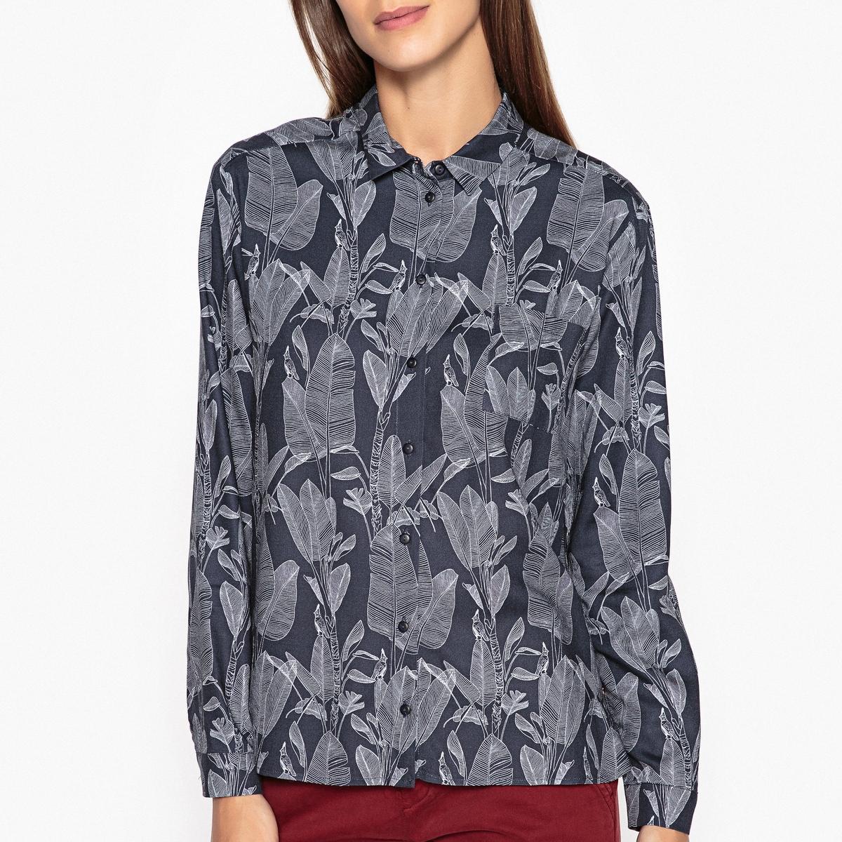 Рубашка с рисунком CÉSARINE рубашка harris wilson harris wilson ha019emqpi74
