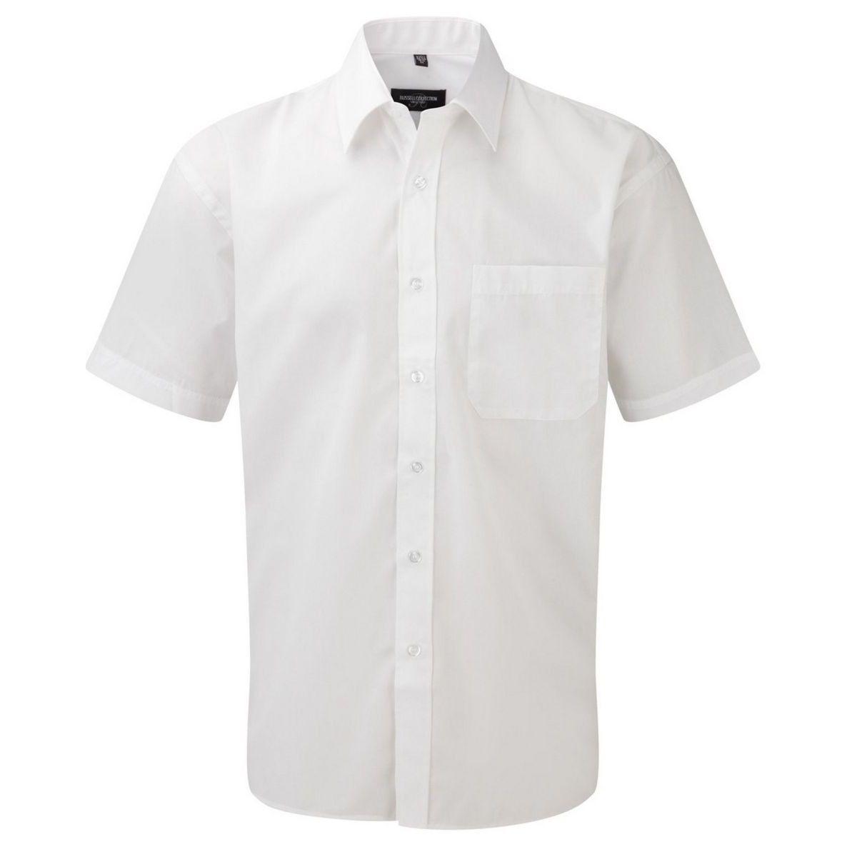 Lot de 2 chemisettes manches courtes poche poitrine