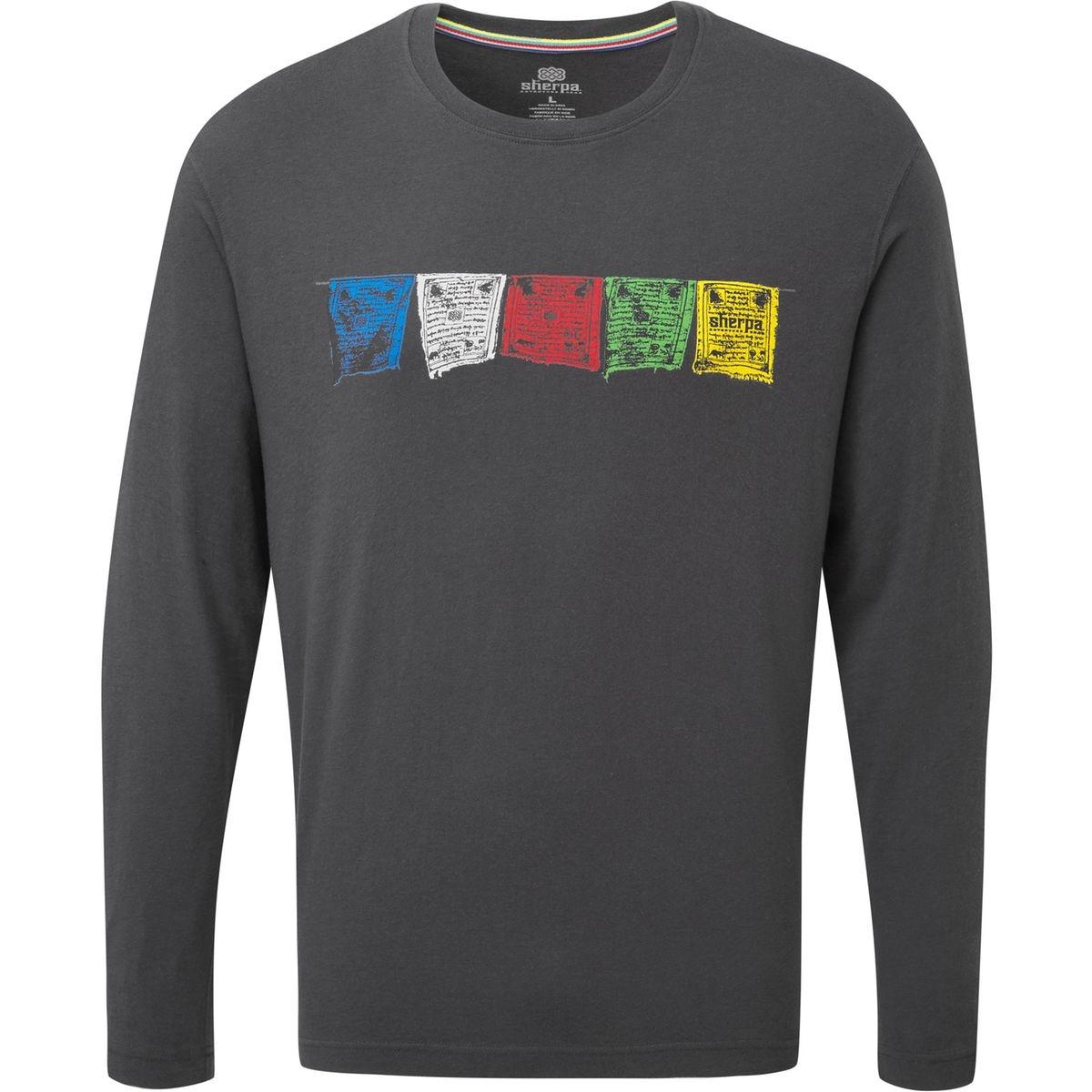 Tarcho - T-shirt manches longues Homme - gris