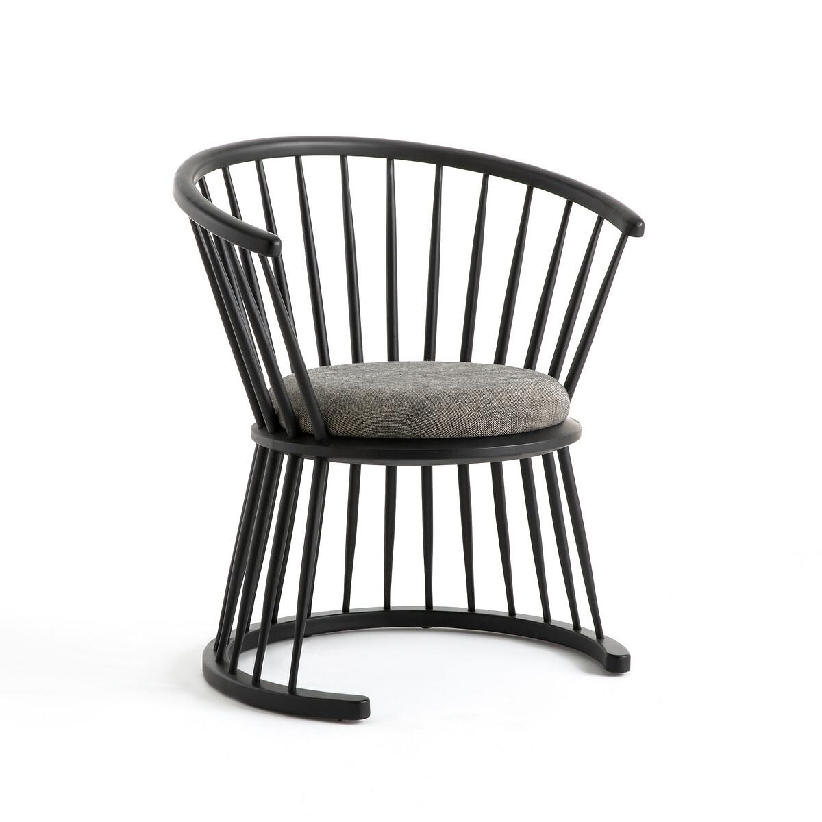 Кресло LaRedoute Низкое Raggi дизайн Э Галлина единый размер черный