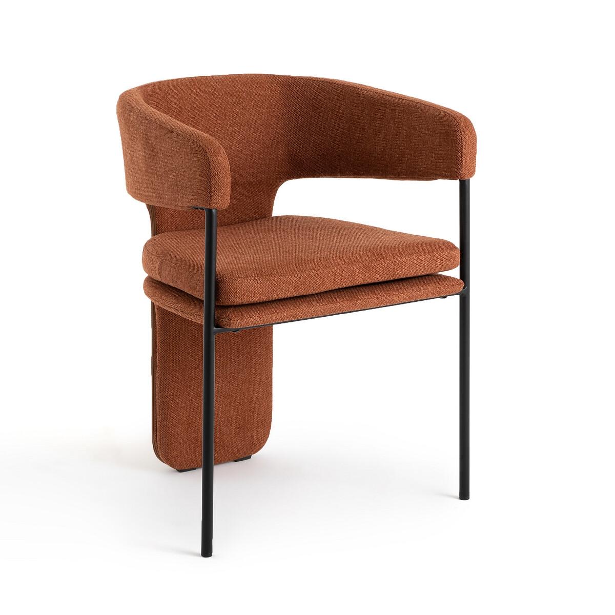 Кресло LaRedoute Для столовой Palazzo единый размер каштановый