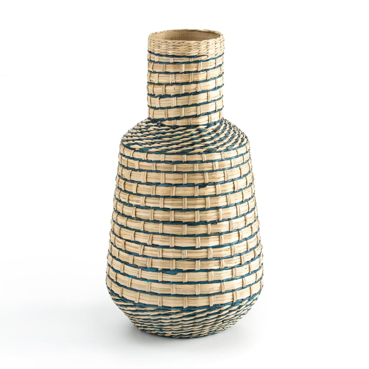 Ваза La Redoute Декоративная из бамбука В см Plooming единый размер разноцветный ваза декоративная glass moon сфера white 38 см афина