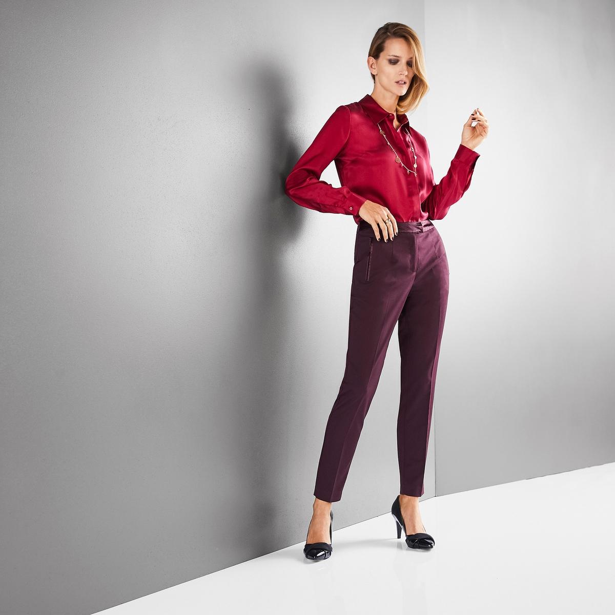 Imagen principal de producto de Camisa 100% seda de manga larga - Anne weyburn