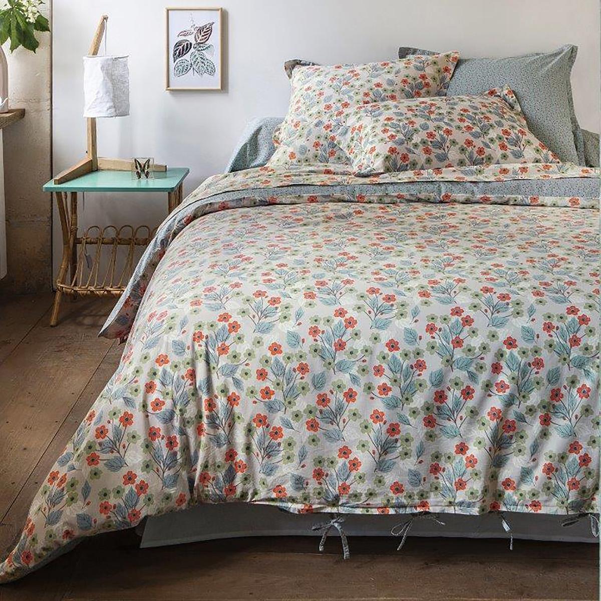 Пододеяльник двусторонний с рисунком Daisy коврик домашний sunstep цвет синий 140 х 200 х 4 см