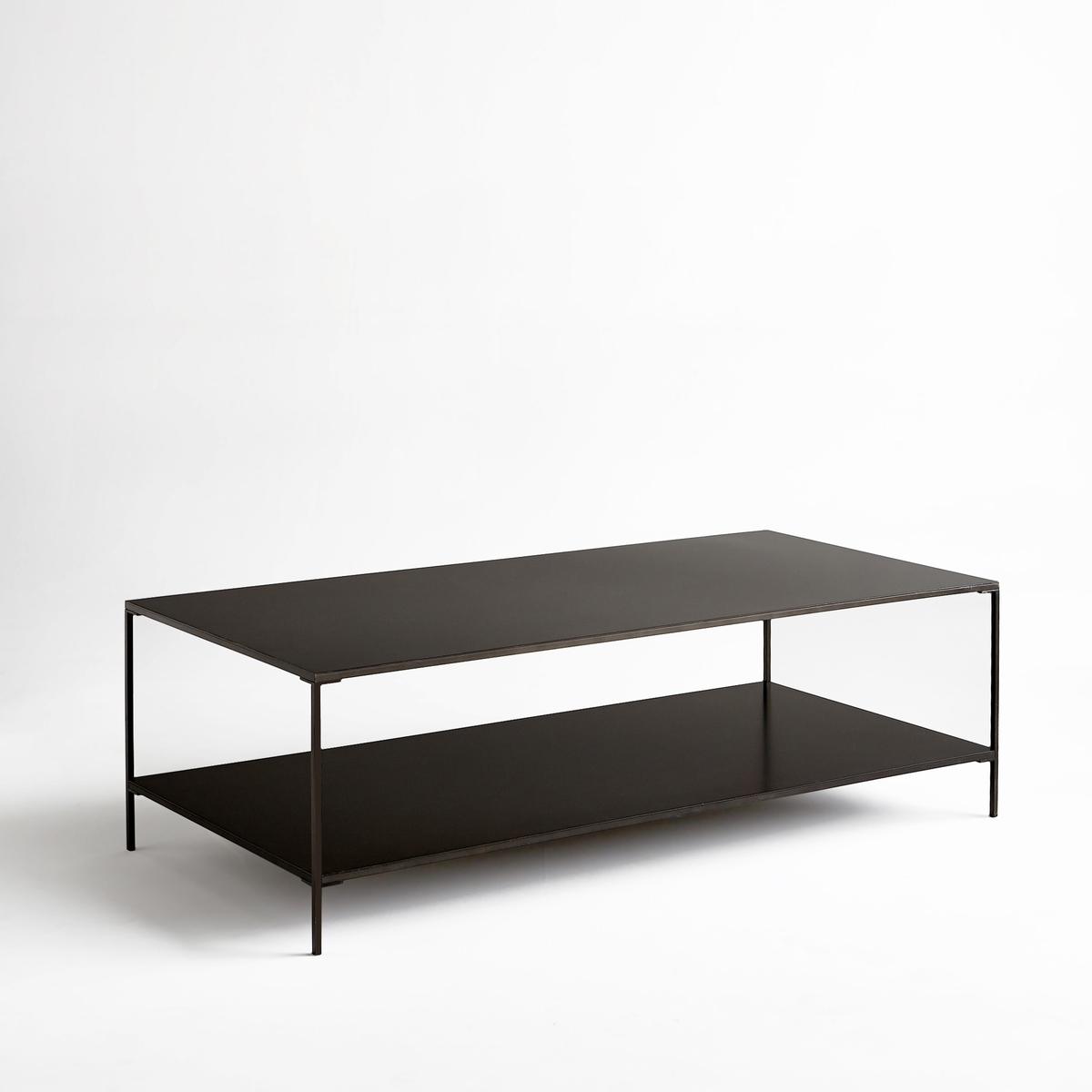 Столик La Redoute Журнальный прямоугольный из металла Yram единый размер серый