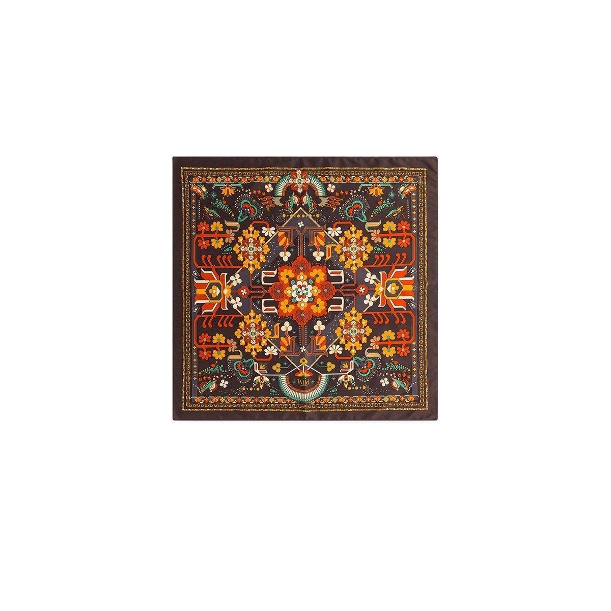 Mini foulard ornements floraux KILIM