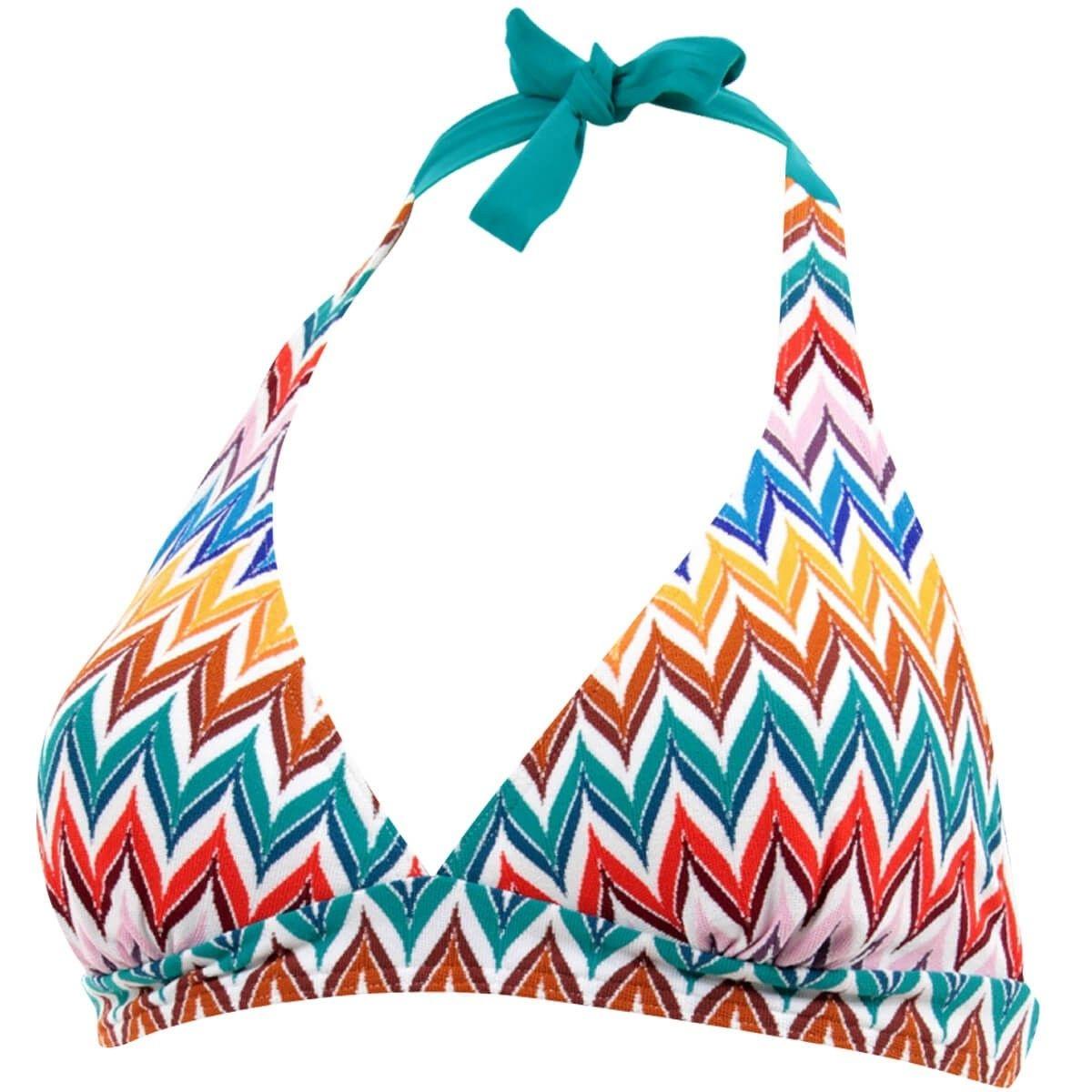 Haut de maillot de bain Triangle foulard mousses amovibles Salvador