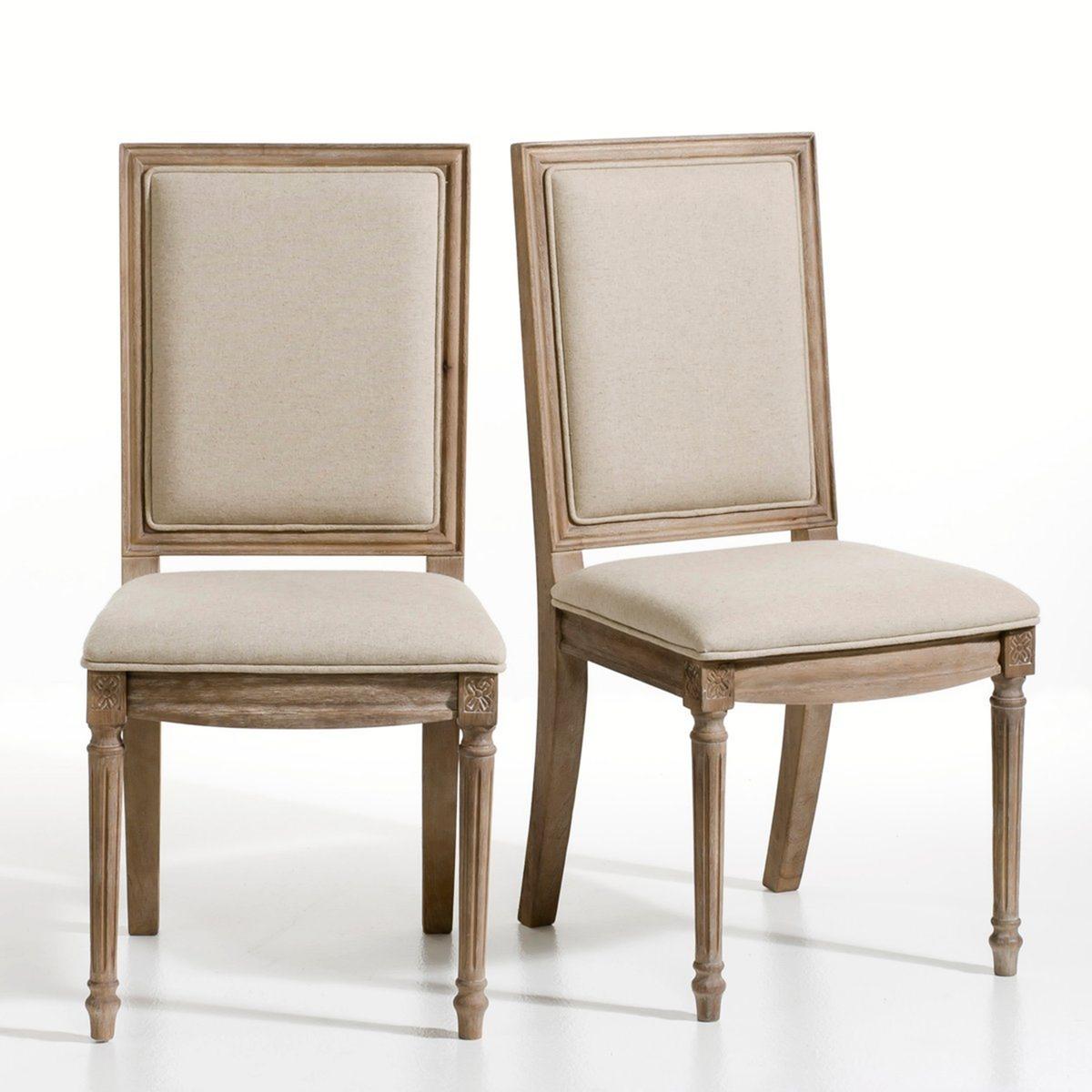 Комплект из стульев в La Redoute Стиле Людовика XVI Nottingham единый размер каштановый sleaford mods nottingham