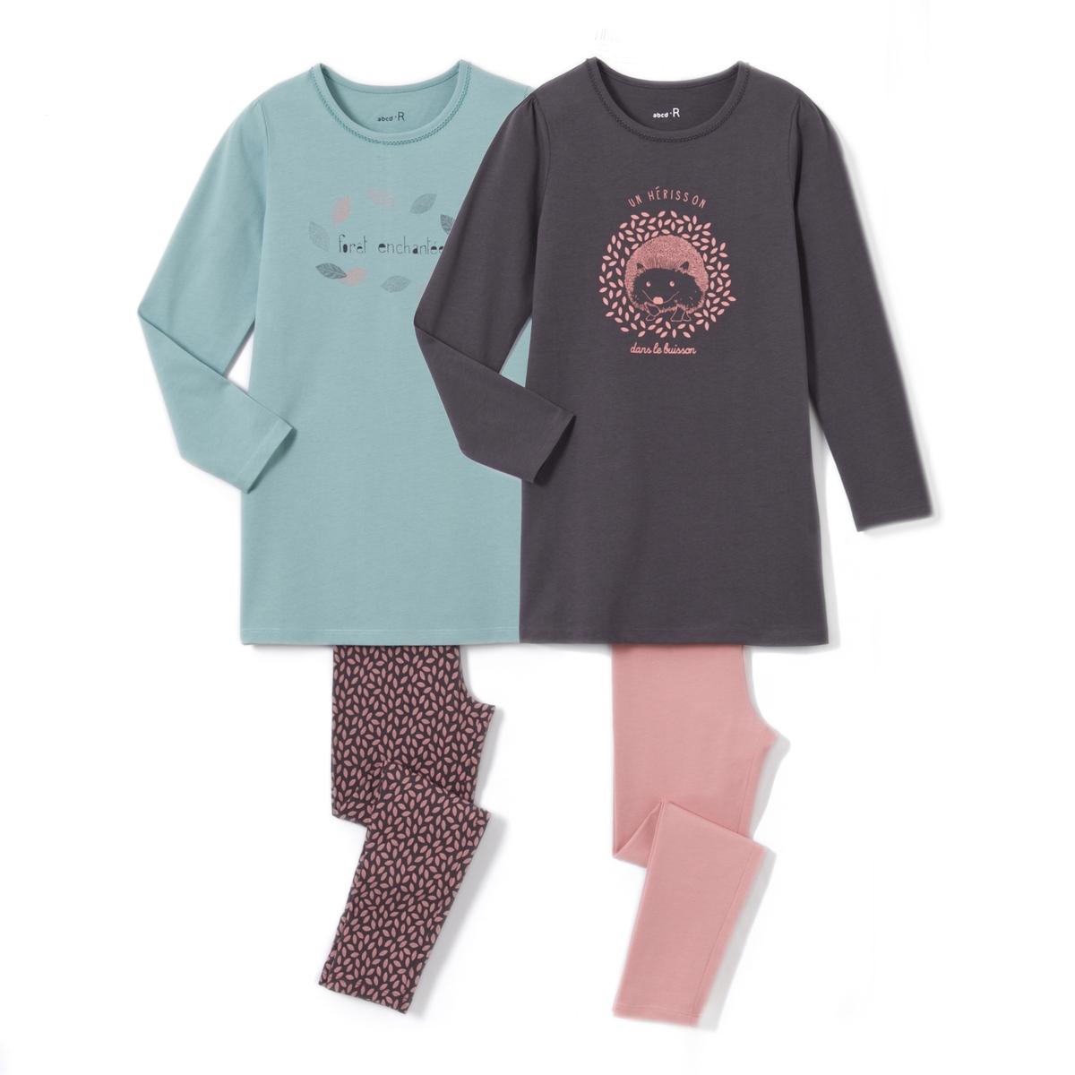 Комплект из 2 пижам, 2  - 12 лет