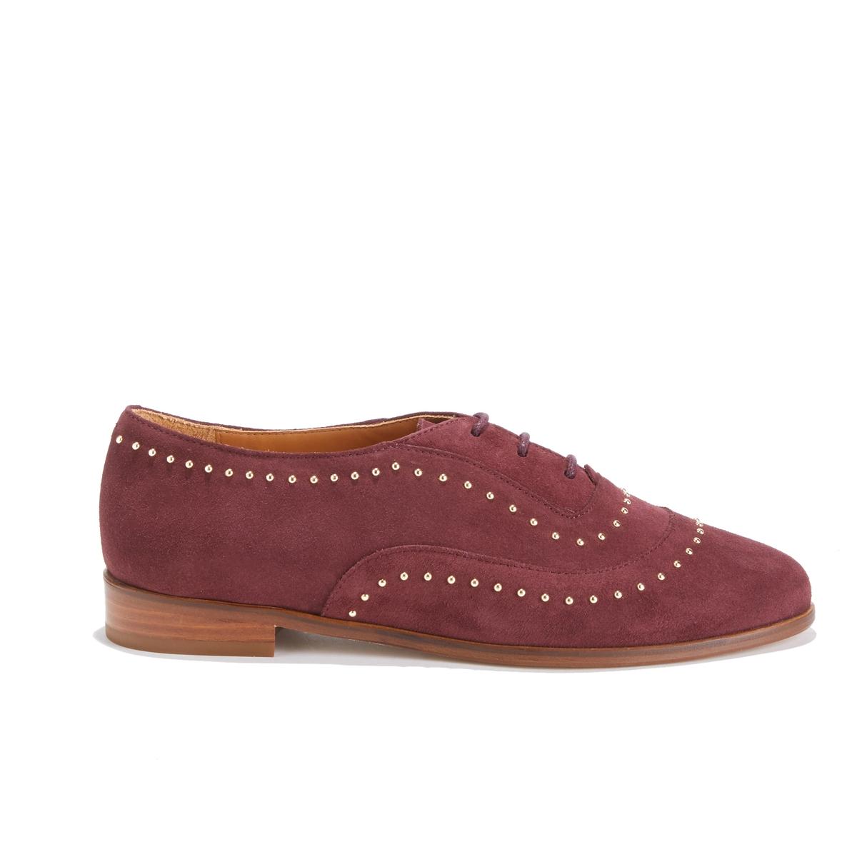 Ботинки-дерби кожаные LA POINTILLEUSE ботинки дерби malika