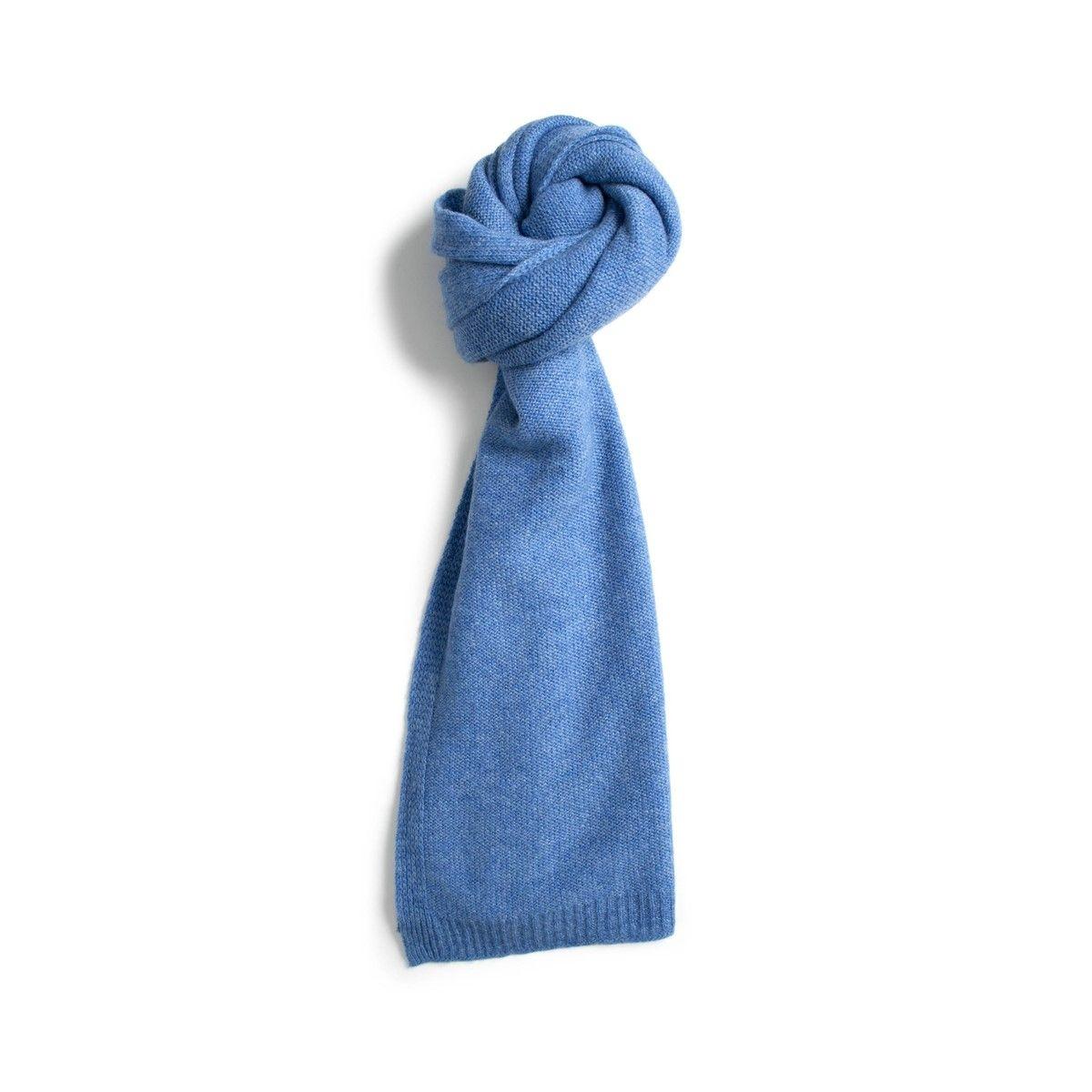 Echarpe 100% cachemire tricotée