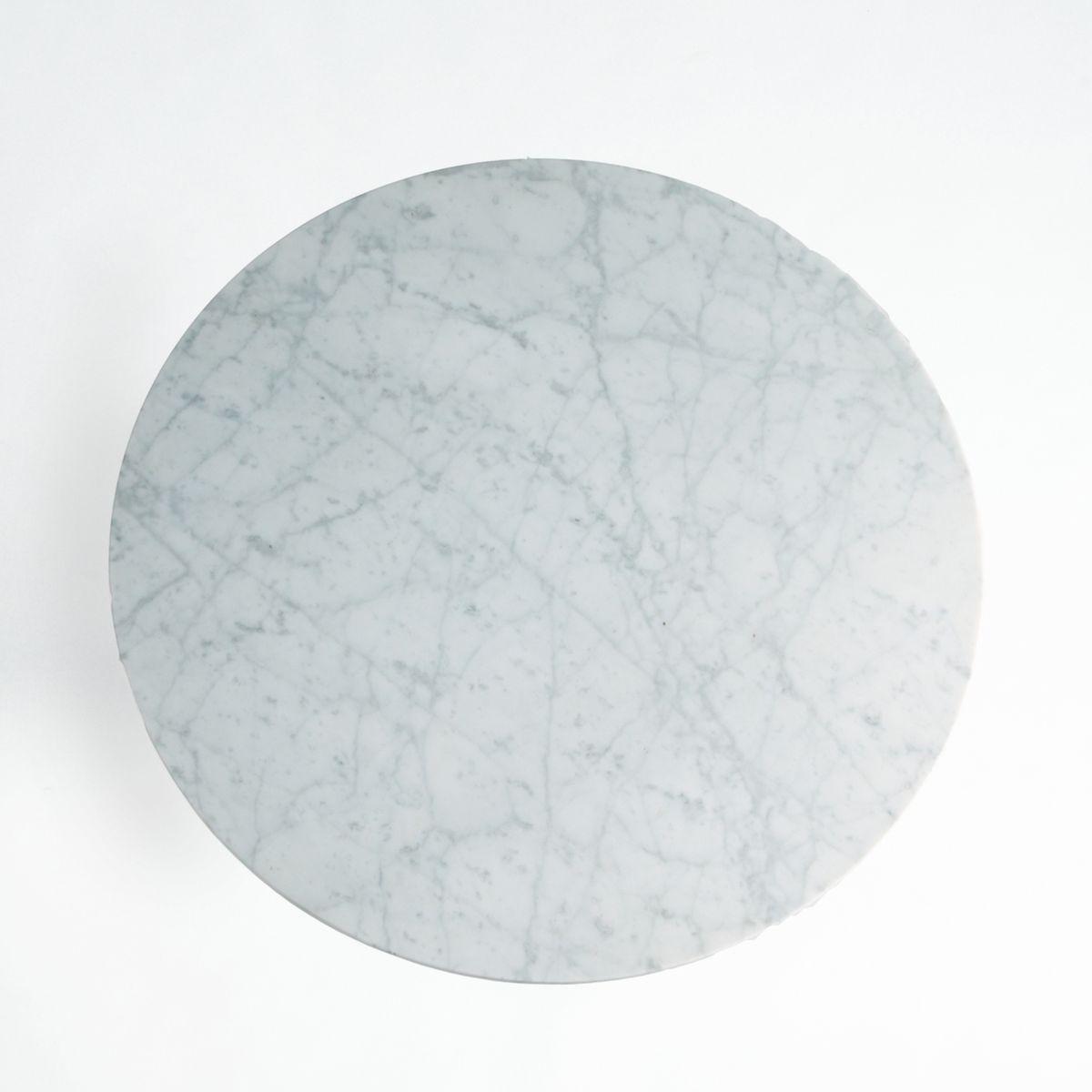 Plateau de table marbre Ø75 cm, Aradan a2dfc3c14ef6