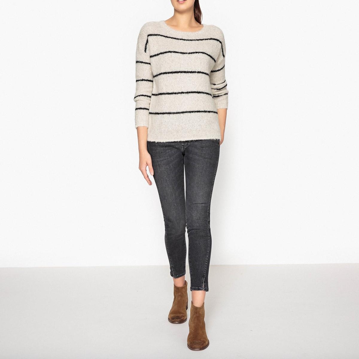 Пуловер с вырезом-лодочкой MELODIE