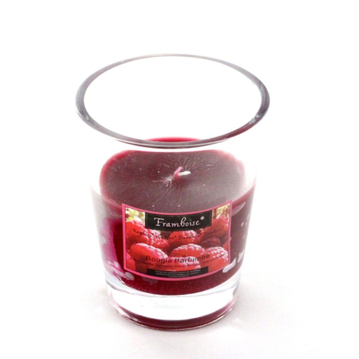 Bougie parfumée en verre Fruit
