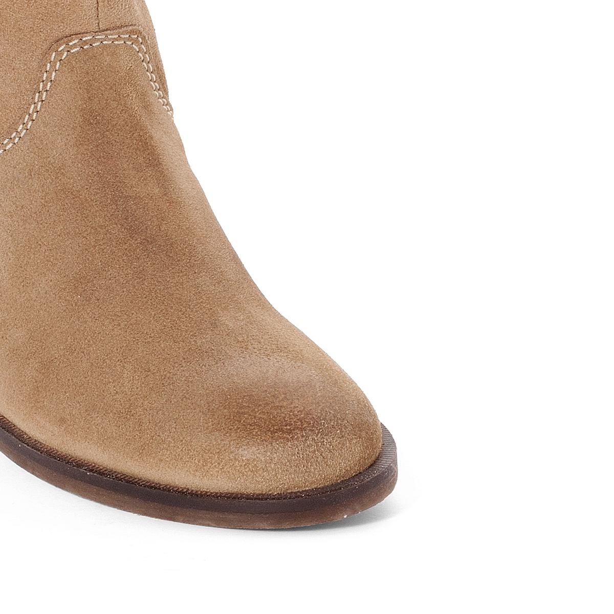 Сапоги RancheroВерх : кожа   Подкладка : текстиль и кожа   Стелька : кожа   Подошва : креп   Застежка : на молнию<br><br>Цвет: бежевый экрю,черный<br>Размер: 40.40.35.38.39.34.37