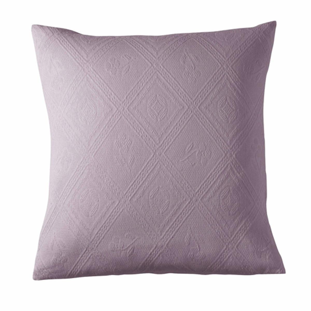 Чехол на подушку из жаккардовой ткани, INDOЧехол на подушку из великолепной хлопковой жаккардовой ткани с ромбовидным узором, качество переплетения (380 г/м?). Характеристики наволочки на подушку-валик или наволочки :- Форма с запахом.- Размеры :  65 x 65 см.- Машинная стирка при 40 °С.<br><br>Цвет: белый,серо-коричневый,серый жемчужный,серый,экрю,ярко-фиолетовый<br>Размер: 40 x 40  см.65 x 65  см.40 x 40  см.65 x 65  см.65 x 65  см.65 x 65  см