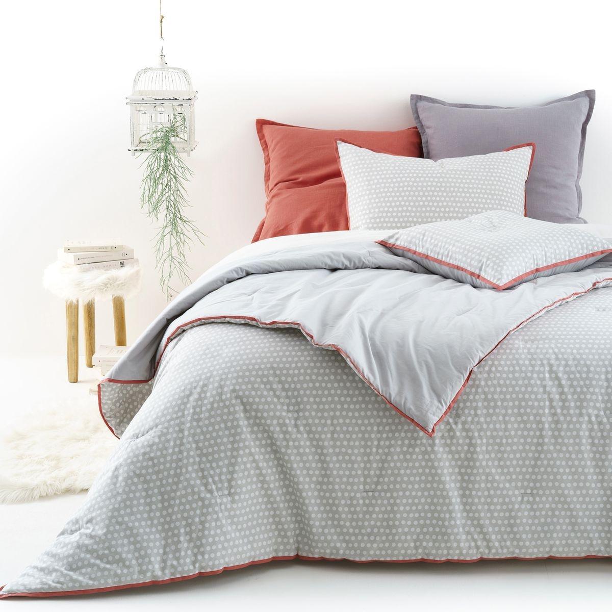 couvre lit en percale duo. Black Bedroom Furniture Sets. Home Design Ideas