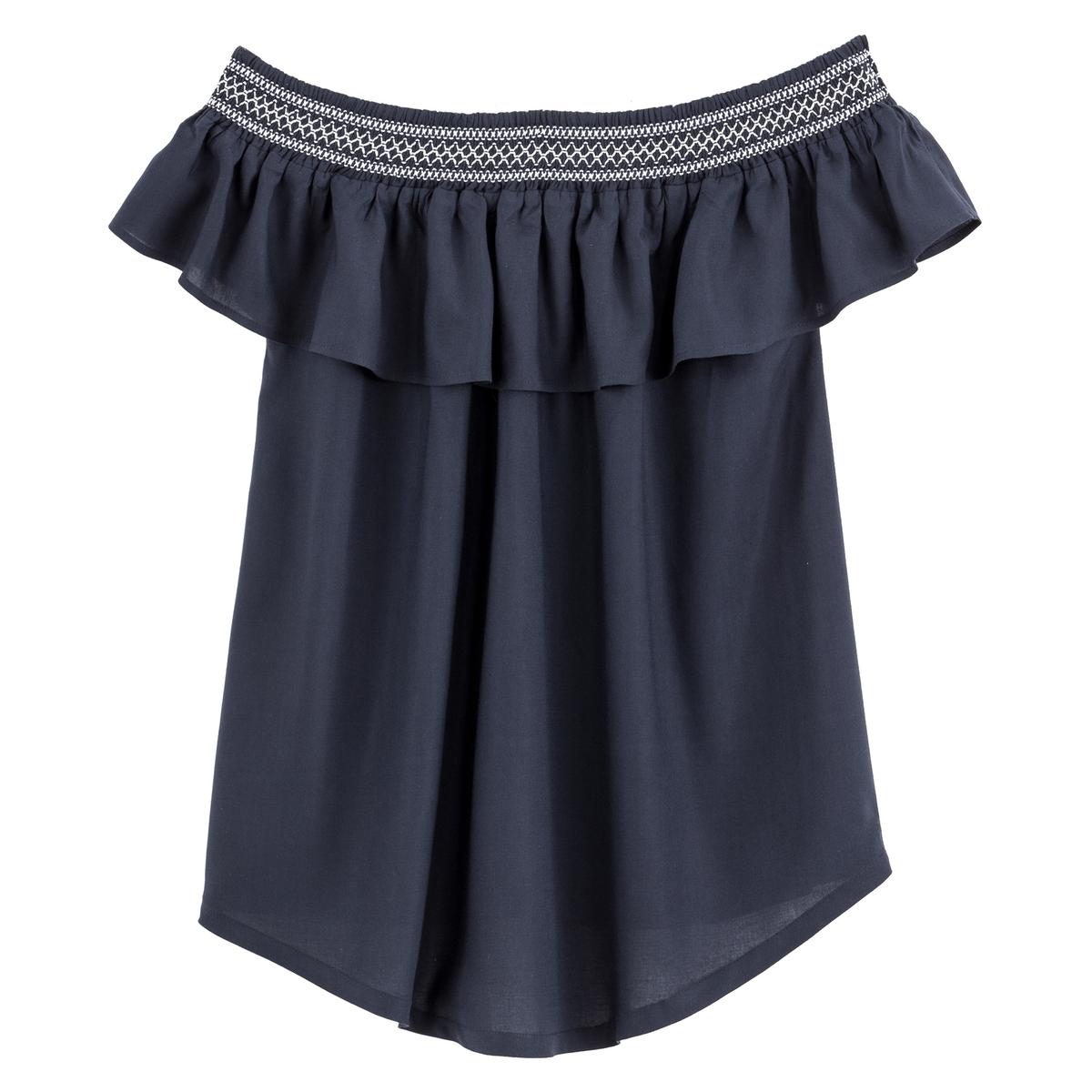 Blusa para grávida, ombros descobertos