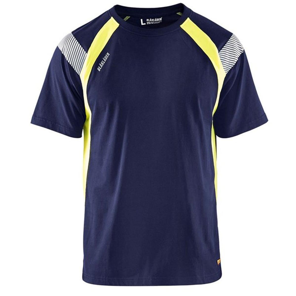 T-Shirt haute visibilité  bicolore coton