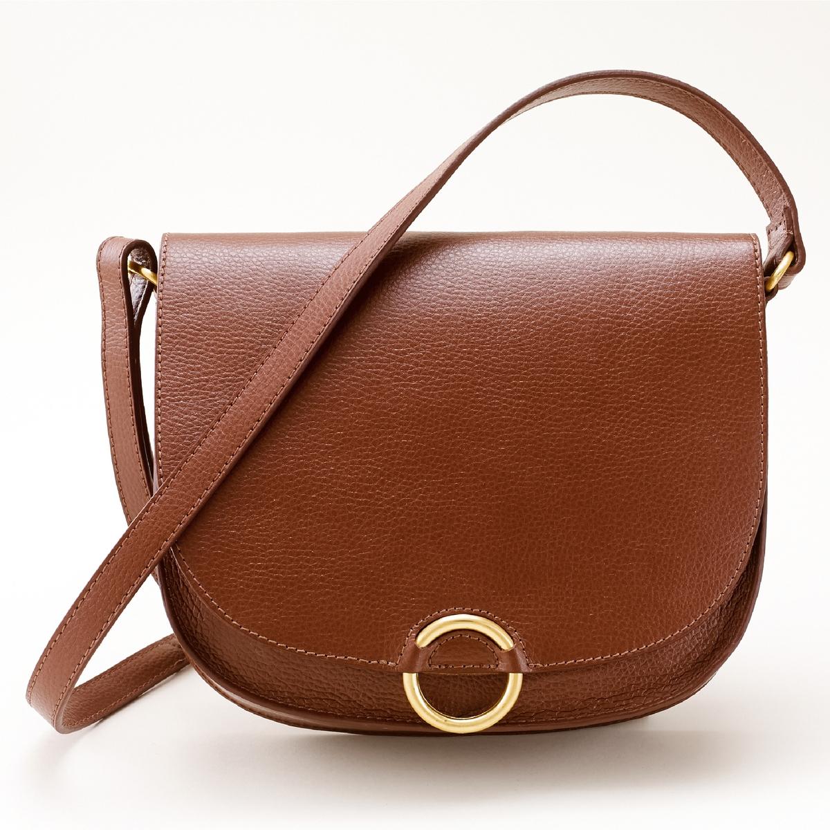 СумкаСумка, R essentiel. Красивая сумка в винтажном стиле, очень женственная, округлые формы. Состав и описаниеМатериал верх : яловичная кожа                          подкладка : текстильМарка R essentielРазмеры : 23 x 26 x 6,5 смЗастежка :на магнитную кнопку2 внутренних кармана.<br><br>Цвет: темно-бежевый,черный<br>Размер: единый размер.единый размер