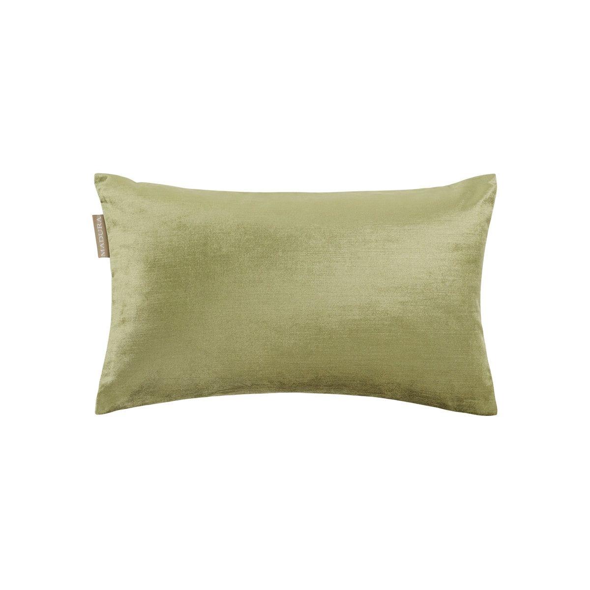 Enveloppe de coussin Coton CASTIGLIONE Vert et taupe