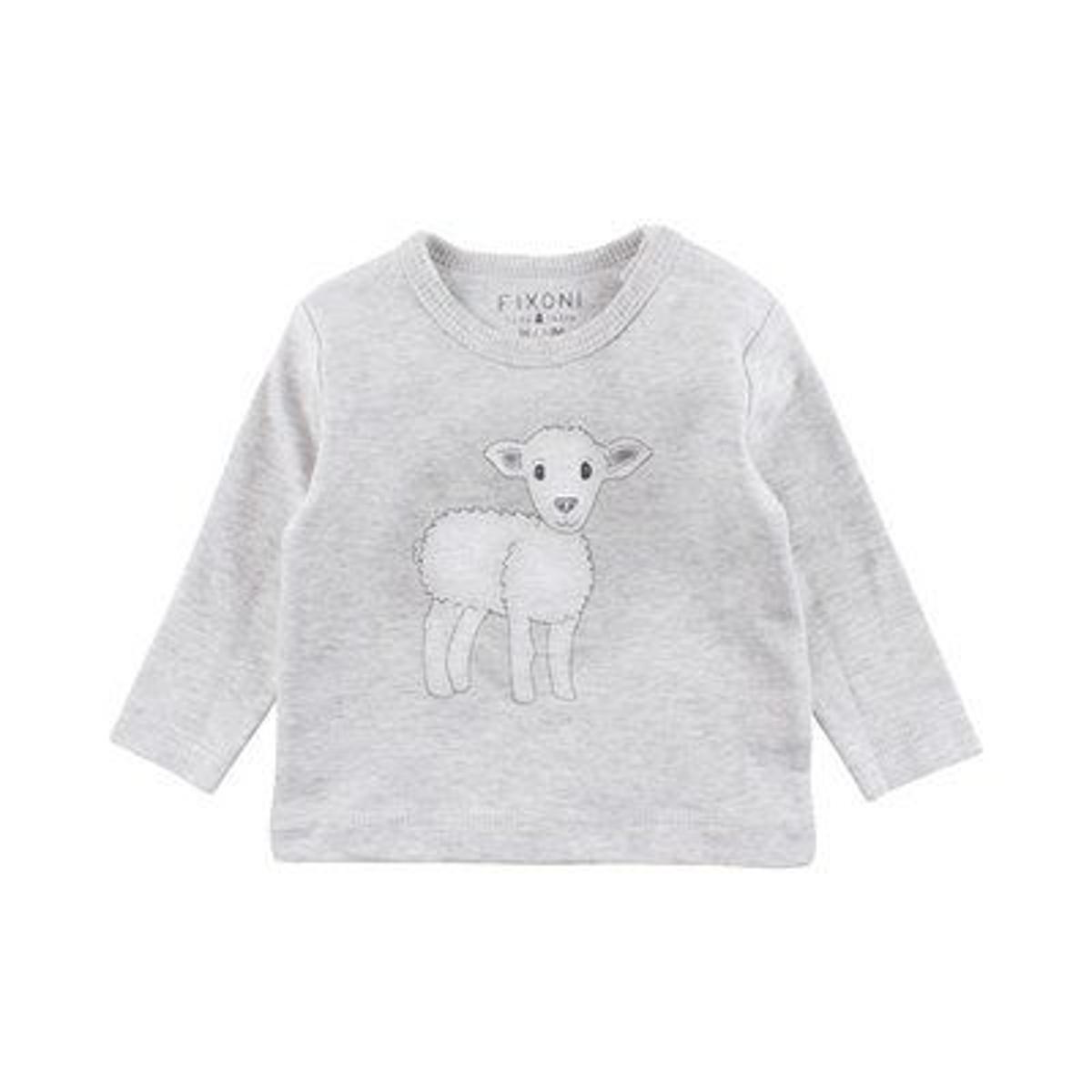 Fixoni T-shirt à manches longues mouton top bébé vêtements...