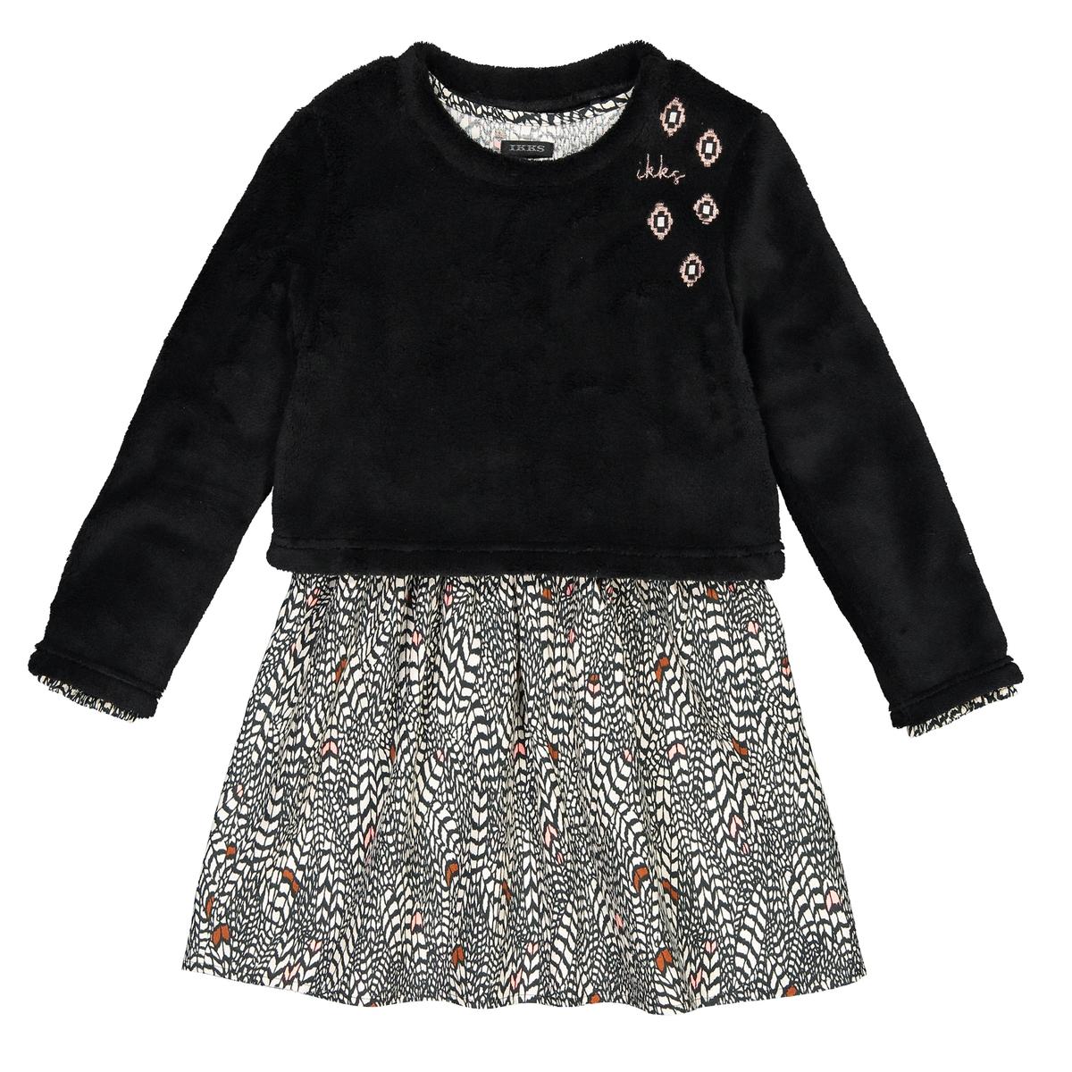 Платье La Redoute в - лет 8 лет - 126 см черный цены