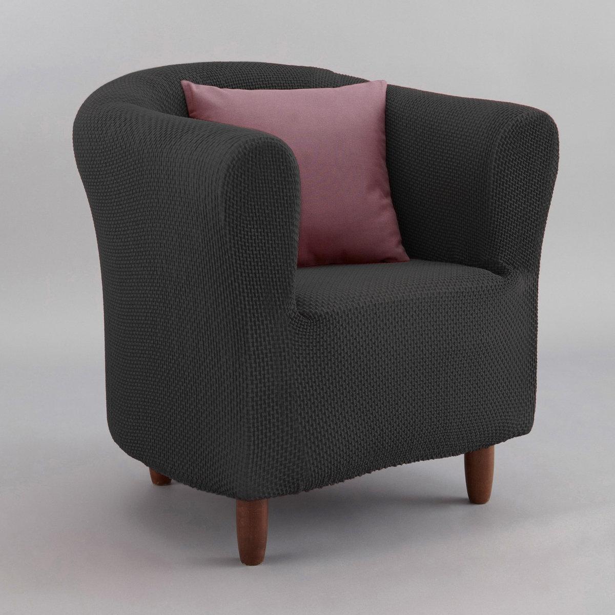 Чехол La Redoute Для кресла AHMIS единый размер серый чехол la redoute эластичный для кресла и дивана ahmis 3 местн белый