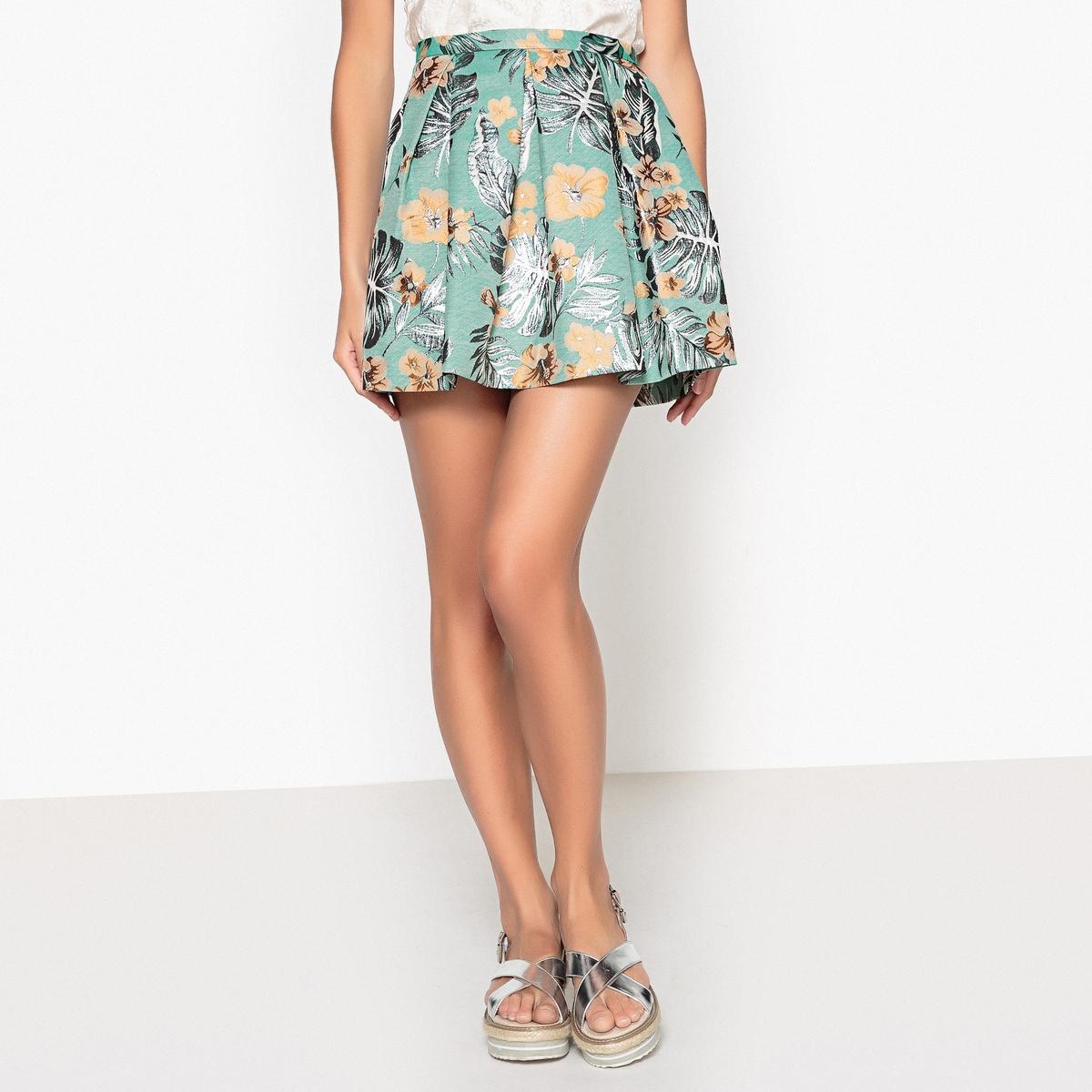Юбка расклешенная с рисунком CRYSALIDE юбка расклешённая с рисунком crysalide