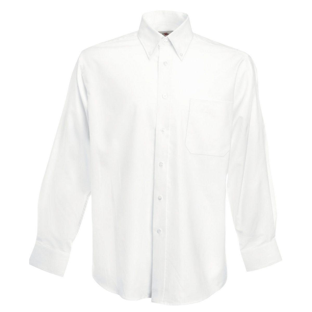 Chemise classique coton polyester